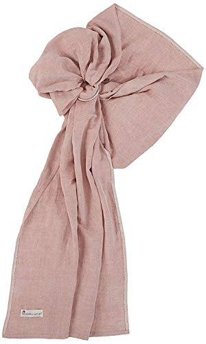 Ring Sling Baby Carrier - Extra Soft Bamboo and Linen...
