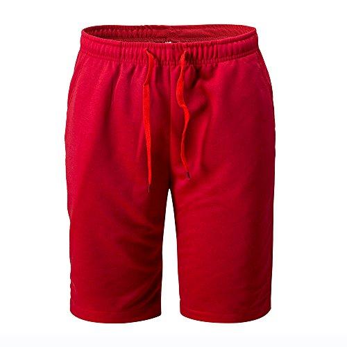 FRAUIT heren sportbroek korte sportbroek kort mannen grijs hoogwaardig comfortabel met rits sport shorts joggingbroek kort voor hardloopsport, outdoor sport, workout