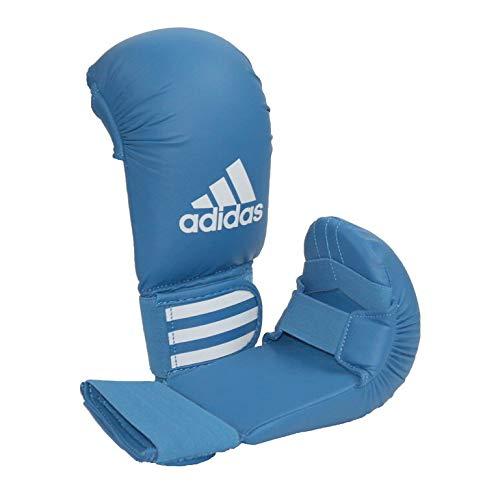 adidas Karate Kumite Faustschützer / Handschutz / Faustschutz, Farbe blau, Gr. M