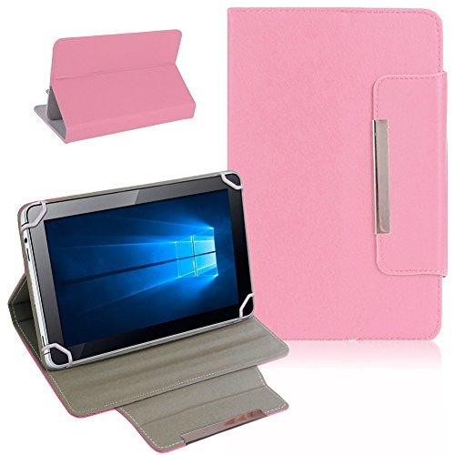Nauci Kiano Intelect 8 MS Tablet Schutz Tasche Hülle Schutzhülle Hülle Cover Bag, Farben:Rosa