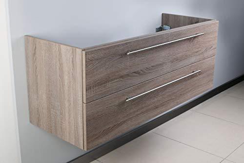Intarbad ~ Waschtisch Unterschrank zu Laufen Pro Doppelwaschtisch 130 cm Waschbeckenunterschrank