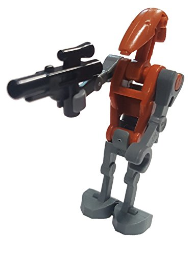 Lego Star Wars Minifigure: Rocket Battle Droid with Jetpack and Blaster
