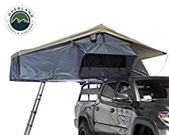 """Features: Marine Grade 600D Rip-Stop Polyester Cotton Canvas Water Proof Body, 420D Polyester Oxford Waterproof Rain Fly, 110g Fade-less Gaze Breathable Windows, 3"""" High Density Foam Mattress with Quilted Cotton Cover, Insulated Base, Marine Grade St..."""
