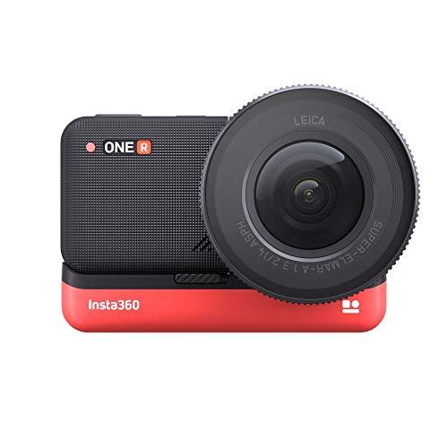 Insta 360 – Cámara de acción VR – Gama One R – Edición 1 – Sensor 1 – Módulo de Lente Leica – Batería 1190 mAh