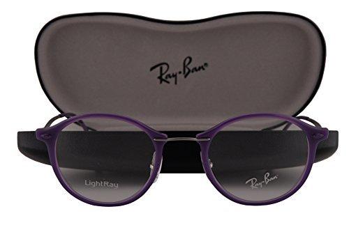 Ray-Ban RX7073 Gafas 47-21-140 Violeta Brillante con Lentes de Muestra 5617 RB7073