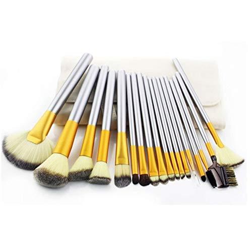 LUOSI Sac réutilisable Stockage, Pratique Brosse Boutique 18-24 unités Pinceau de Maquillage Set Fondation Eye Shadow cosmétiques Outil (Size : 24pcs)