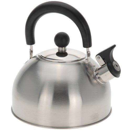 2,5 L Edelstahl Flötenkessel Wasserkessel Teekessel