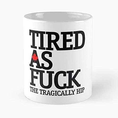 Tazas Tragically Hip The Gord Downie Taza de Café de Cerámica Personalizada Taza de té El Mejor Regalo Para la Oficina en Casa 11.6oz (330ml)