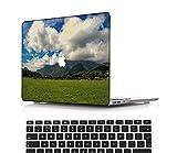 NEWCENT Nuevo MacBook Air 13' Funda,Plástico Ultra Delgado Ligero Cáscara Cubierta EU Teclado Cubierta para MacBook Air 13 Pulgadas con Retina Display Touch ID(Modelo:A2337 M1/A2179),Vistoso A 0202