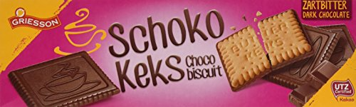 Griesson Schoko Keks Zartbitter, 125 g