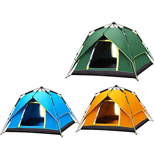 3-4 people outdoor tent Double automatic double-outdoor camping tent multiplayer