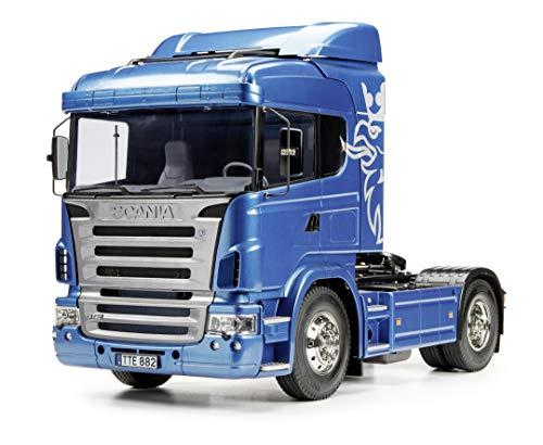 TAMIYA 56318 1:14 Scania R470 Highline 4x2 BS, Bausatz zum Zusammenbauen, RC Truck, fernsteuerbarer, Lastwagen,...