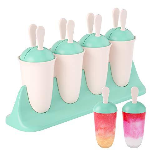 Eisform, Joyodelf 8 Stücke EIS am Stiel Formen, LFGB Geprüft und BPA Frei Eisformen, Geeignet Für Kinder