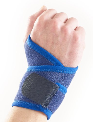 Neo G Wrist Brace - for Joint Pain, Arthritis, Sprains, Strains, Instability, Gym, Sports, Golf, Tennis, Basketball - Adjustable Compression - Class 1 Medical Device - 1 Size - Blue