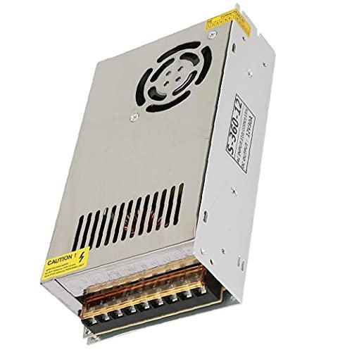 Sanfiyya conmutación Controlador de Equipos de alimentación Adaptador CC 12V 30A regulado...