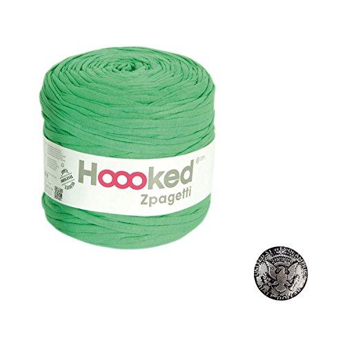 KIYOHARA Hooked Zpagetti (フックドゥズパゲッティ) コンチョボタン 鳥 30mm セット Green