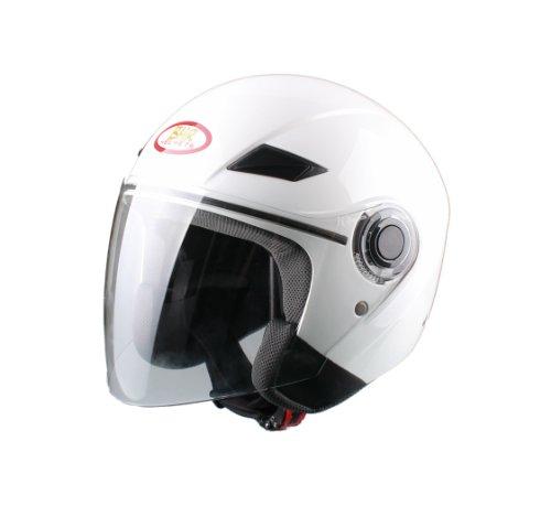 BHR 49850 Helm Demi-Jet, Weiß, 59-60 (L)