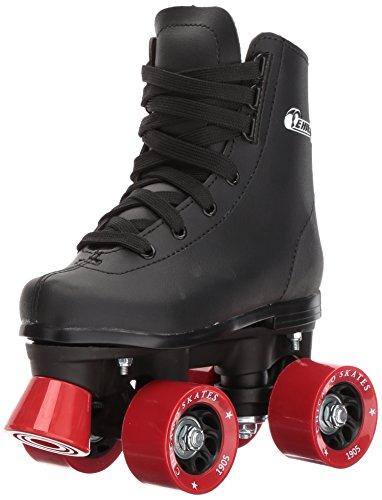 Chicago Boys Rink Roller Skate - Black Youth Quad Skates - Size J12