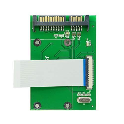 Xiwai 40 Pin ZIF CE 1,8 Zoll SSD/HDD auf SATA Adapterplatine mit LIF Flachkabel