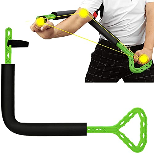 MGCD LY Tipo Golf Swing Ayuda de Entrenamiento Arm Postura Corrector Herramienta para Mejorar la rotación del antebrazo de la bisagra Hombro del Hombro del Hombro de Golf Swing Trainer Ayuda