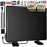 [Upgraded 2020] Amplified TV Antenna Indoor/Outdoor -120Miles Ultra Digital HDTV...