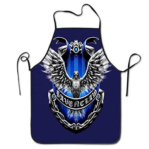 Harry Potter Ravenclaw - Delantales de cocina para parejas con bolsillos, Mr....