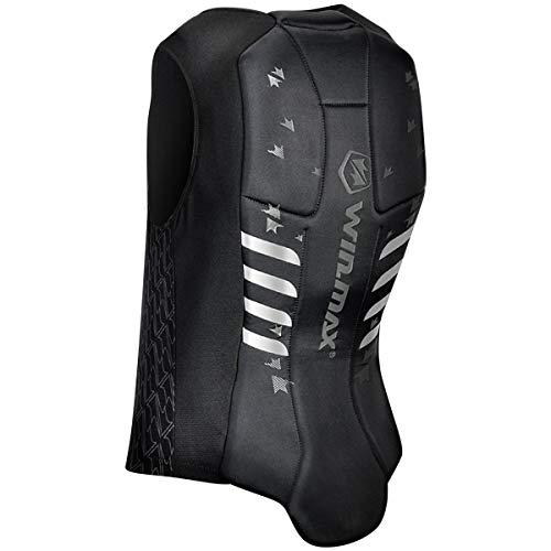 WIN.MAX Protector de espalda unisex para adultos, protector de espalda para equitación, esquí, surf, ciclismo, motocicleta, chaleco de protección, talla L