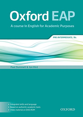 Oxford EAP: Pre-Intermediate B1. Student\'s Book and DVD-ROM Pack (English for Academic Purposes)