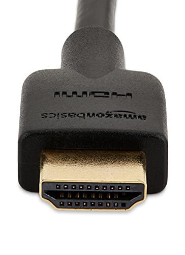 Sony UBP-X700 4K Ultra HD Blu-ray Disc Player Schwarz & Amazon Basics HL-007306 Hochgeschwindigkeits-HDMI-Kabel 2.0, Ethernet, 3D, 4K-Videowiedergabe und ARC, 1.8m, Schwarz