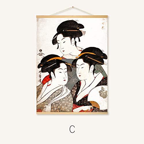 Hängende malerei Japanisches Restaurant wandmalerei rollbild 22-c 40 * 30
