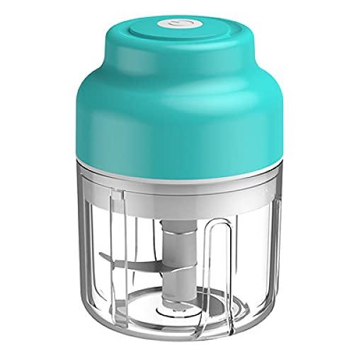 Mini procesador de Alimentos Cargo DE Golding ELECTRICO Carga USB Portátil Nin Nikki Massing Kitchen Cargador de bebé(Big (250 ml))