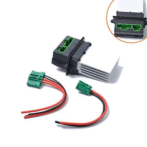 JIANGNANCHUN bruikbaar Compatibel met Citroen Compatibel met Nissan Reno Air conditioner Blower Resistor zilver
