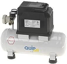 Quipall 2-.33 1/3 HP 2 Gallon Oil-Free Hotdog Air Compressor