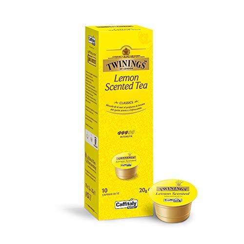 TWININGS Lemon Scented Tea - Caffitaly System Twinings Tee-Kapseln