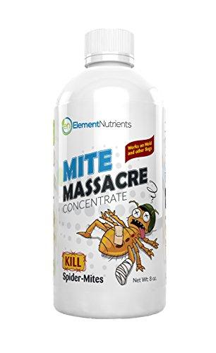 Mite Massacre 8 oz. Spider Mite Killer and Powdery Mildew Fighter - Makes 8 GALLONS of Spray