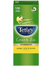 Tetley Green Tea Bags - Ginger, Mint & Lemon, 100 Bags