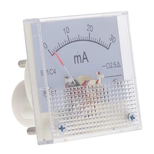 Amuzocity Analoger Amperemeter Strommesser Zeiger - 0-30mA