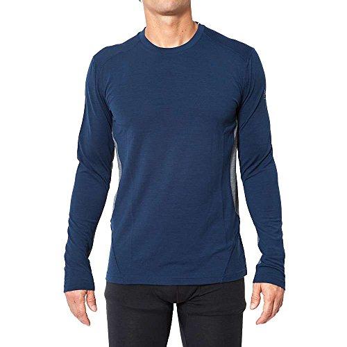 super natural Base 175 sous-vêtement Thermique Manches Longues Homme, Ocean Deep, FR (Taille Fabricant : XL)