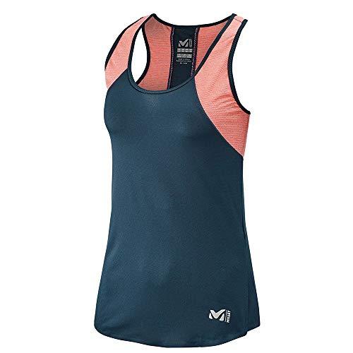 MILLET LD Ltk Intense Light Tank T-Shirt Femme XS Multicolore (Orion Blue/Lava)