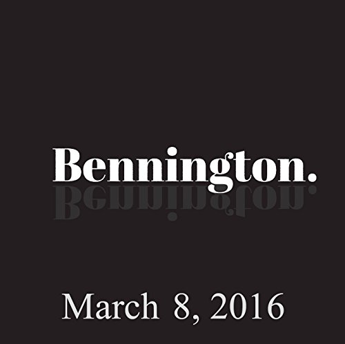 Bennington, Dave Attell and Big Jay Oakerson, March 8, 2016 cover art