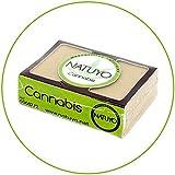- Mascarilla de jabón NATUYO aliviante de CANNABIS.- Reduce dolores musculares y articulares por sus propiedades anti-inflamatorias, promueve la regeneración celular y da brillo a la piel.