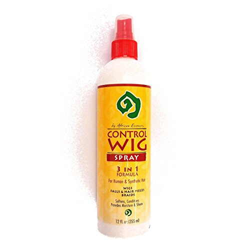Control Wig Spray 3 In 1 Formula 12Oz