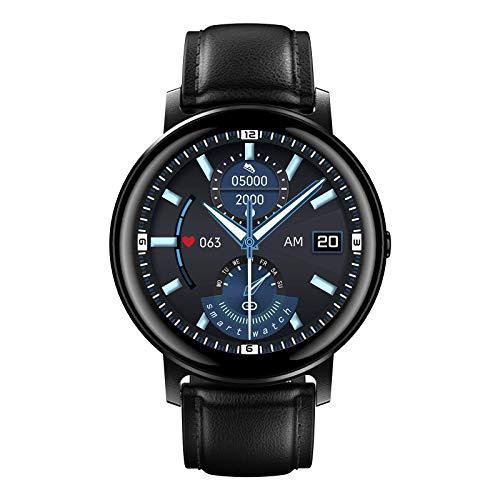 SANAG Smartwatch Herren,Fitness Tracker mit Musikspieler,Armbanduhr mit Blutdruck Messgeräte,Pulsuhren, Schlafmonitor Uhr Wasserdicht, Schrittzähler für iOS Android,Support-Anruf