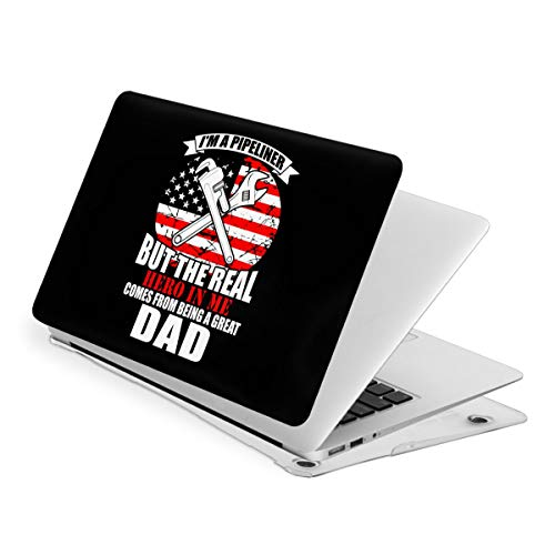 Pipeliner Real Hero Dad MacBook Air 13 Inch Case Slim Fits with A1466 A1369 Hard Shell Protective Cover Compatible with Apple Mac Air 13