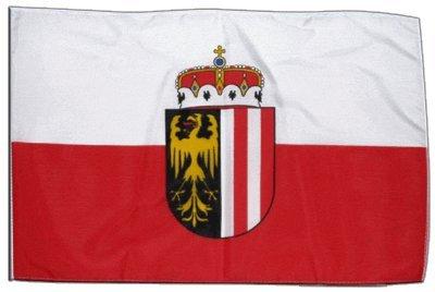Fahne Flagge Österreich Oberösterreich 30 x 45 cm