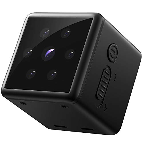 Mini Spy Cam 1080p Full HD - Mountable Hidden Video Camera with Motion...