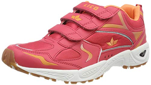 Lico Damen Bob V Multisport Indoor Schuhe, Mehrfarbig (Lachs/Türkis Lachs), 38 EU
