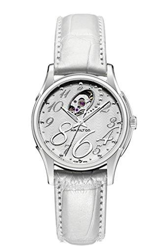 Hamilton Reloj Analogico para Mujer de Automático con Correa en Cuero H32465953