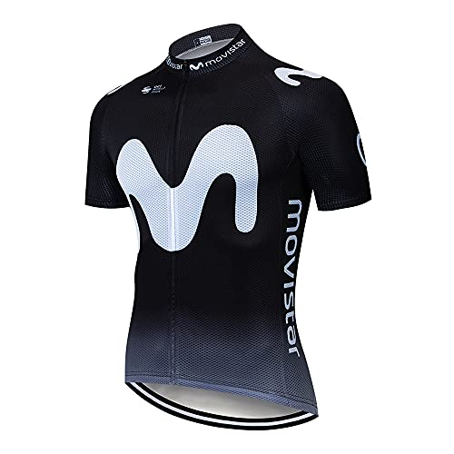 Maillots de Ciclismo Hombres Camiseta Ciclismo Respirable Jersey Ropa Ciclista