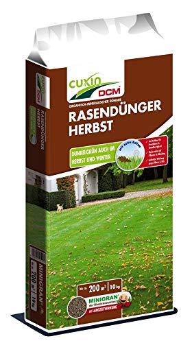 Cuxin 12510 Rasendünger Herbst, 10 kg